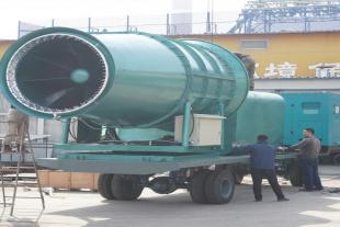 秦皇岛牵引式降温雾炮设备 生产堆场煤棚喷雾设备