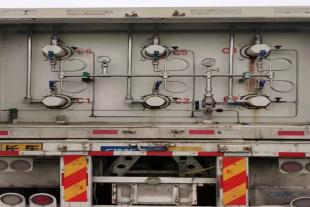 出售22.17立方6管天然气运输车 cng槽车尾