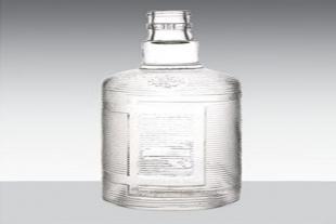 高白玻璃酒瓶定制厂