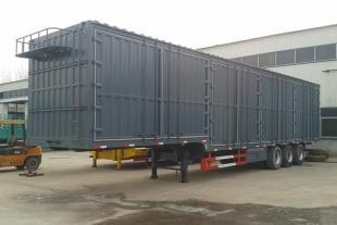 厂家直销集装箱运输半挂车