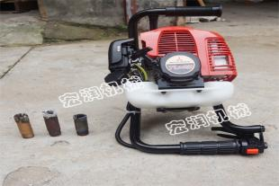 便携式小型汽油机背包钻机 取芯勘探背包钻机供应