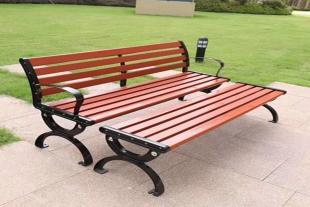 公园凉椅木质休闲排椅现货供应