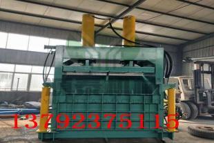 30吨立式打包机  废纸压块机 半自动立式30吨立式废纸压扁机