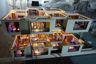 户型别墅模型设计制作