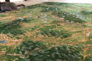 军事模型地形演示沙盘设计制作
