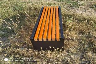 园林长条凳实木长凳长条休息凳现货供应