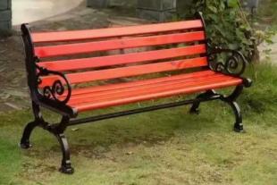 花园庭院椅园林休闲椅铸铝花边座椅