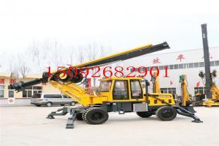 厂家热线轮式旋挖钻机 冻土层旋挖钻机视频 小型旋挖钻机