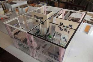 山东户型别墅模型设计制作