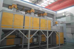涂装废气处理设备 3万风量催化燃烧设备厂家
