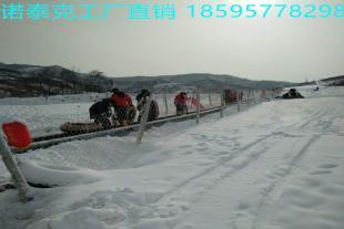 滑雪场魔毯工厂报价 耐低温防滑的雪地电梯设备