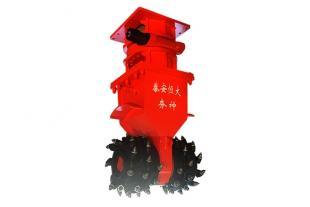 RW系列液压岩土铣挖机