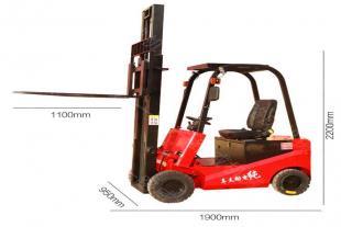 升高装卸堆垛铲车 座驾全电动叉车 电瓶液压堆高车