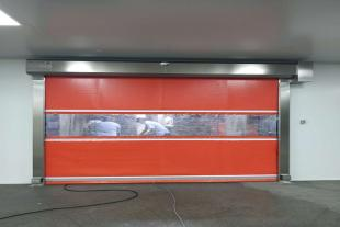 湖北卷帘门风淋室 武汉卷帘门货淋室厂家价格JHCP57027