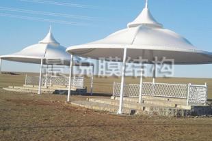膜结构广场景观厂家