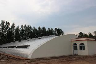 山东日光温室建设