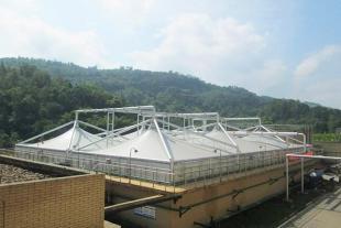 山东膜结构污水池建造厂家