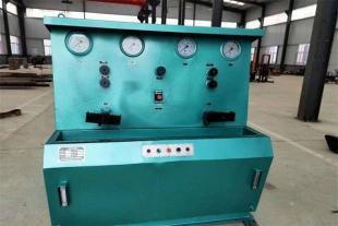 山东稻香机械 单体液压支柱密封三用阀试验台 数显式试验台