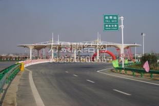 膜结构建筑广场生产加工厂家