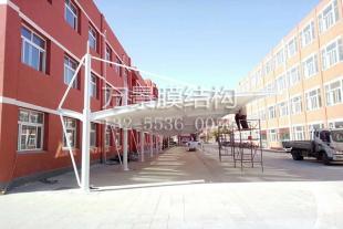 膜结构停车棚生产加工厂家