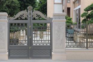 别墅庭院门制造