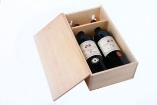 山东木质红酒盒批发