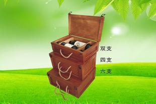 山东木皮白酒盒厂家