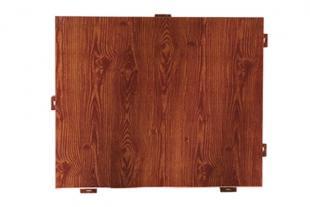 临朐木纹铝单板厂家