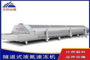 隧道式液氮速冻机/食品速冻机
