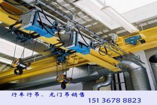 黑龙江牡丹江行车行吊厂家销售50吨电动双梁起重机