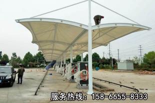 山东膜结构充电桩车棚厂商