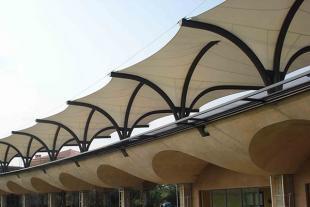 膜结构景观工程建设