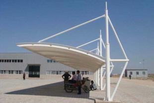 膜结构车棚工程建设