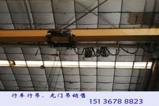 广东韶关20吨行车行吊厂家吊运水泥模具钢材