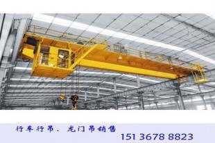 广东广州行车行吊厂家生产10吨欧式单梁起重机