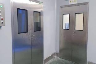 不锈钢洁净门,病房实验室车间净化门,支持定制安装售后服务