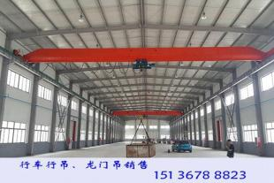 湖南益阳5t单梁行车厂家配合用户选型