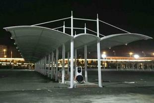 膜结构停车棚设计安装加工