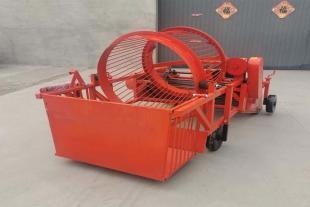 废旧垃圾膜收获机 农田塑料膜回收机 环保地膜回收机