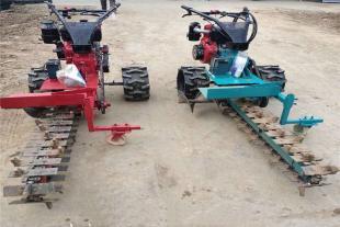 地埋线小型开沟机 管道电缆开沟机 链条式路面挖槽机