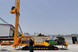 新型cfg注浆打桩机 步履式长螺旋灌注桨 履带式多功能旋挖钻机价格
