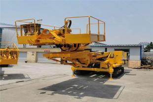履带护坡锚固钻机 履带式液压打桩机现货 供应多功能工程钻机