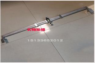 数显卡尺数显式钢轨波磨尺铁路波磨测量尺波浪磨损测量仪