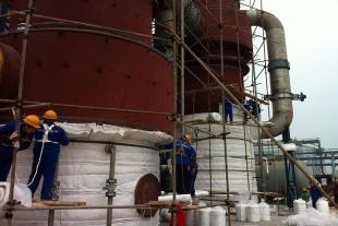 彩钢不锈钢白铁保温施工队防腐不锈钢罐体保温工程